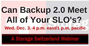 Brighttalk Webinar Can Backup 2.0 Homepage