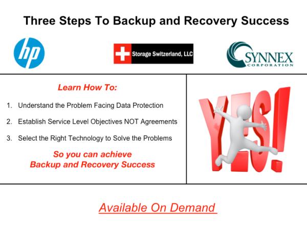 Backup Service Level Agreements Vs Service Level Objectives