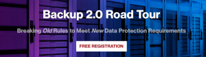 Register for the Backup 2.0 Road Tour