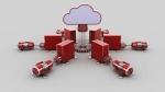 cloud computing 3d  render