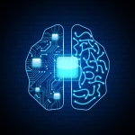 Brain-with-circuit-board-