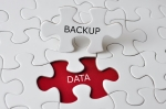 Jigsaw Puzzle With Data Backup Concept
