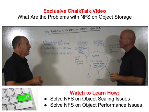 Caringo ChalkTalk Video