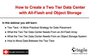 Webinar: How to Create A Two Tier Enterprise With All-Flash